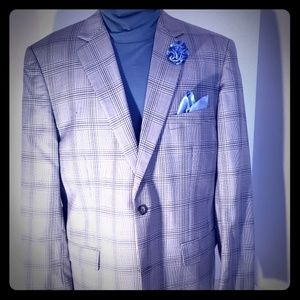 Joseph & Feiss Gold two button blazer Classic fit